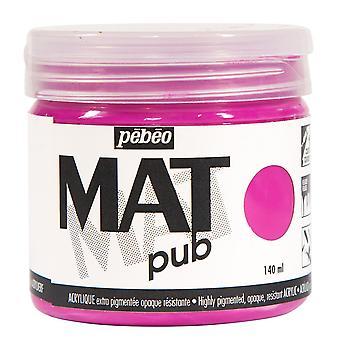 Pebeo Mat Pub Acrylic Paint 140ml