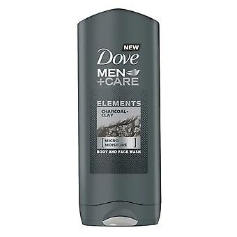 Dove Men+Care Charcoal + Clay Body and Face Wash