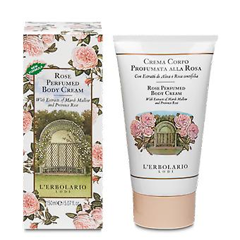 L'Erbolario Perfumed Pink Body Cream 150 ml (Cosmetics , Body  , Moisturizing Cream)