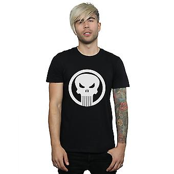 Marvel Men's Punisher Skull Circle T-Shirt