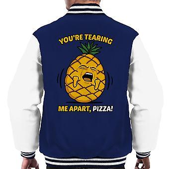 Katastrofe ingrediens Pizza rom menn Varsity jakke