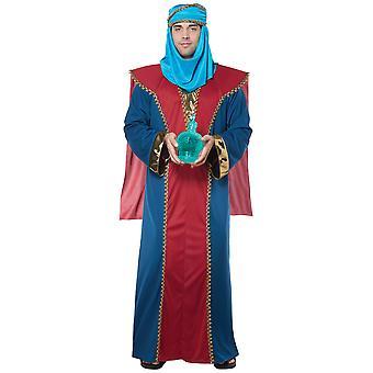 Balthasar mądry człowiek trzy świąteczne króla biblijne religijnych męskie kostium