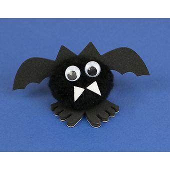 Halloween Bat littlecraftybug Craft Kit for 10 Kids | Kids Halloween Crafts
