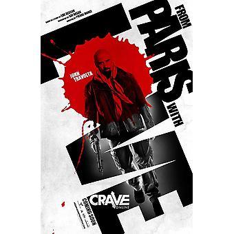 Desde París con amor Movie Poster (11 x 17)