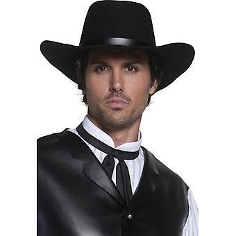 Smiffys autentiske vestlige Gunslinger lue