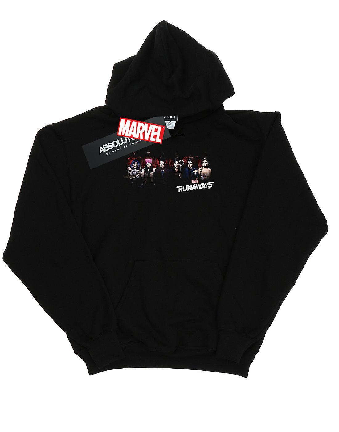 Marvel Men's Runaways Lineup Hoodie