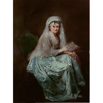 Self-Portrait, anna dorothea grave, 50x40cm