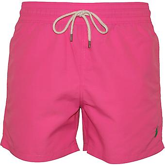 Polo Ralph Lauren Slim-Fit Traveller Swim Shorts, Maui Pink