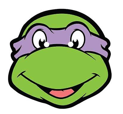 Donatello Teenage Mutant Ninja Turtles Card Face Mask