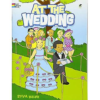 At the Wedding (Dover Coloring Book)