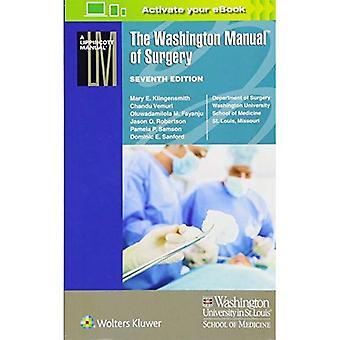 De handleiding van de Washington van chirurgie (Lippincott handmatige serie (voorheen bekend als de handmatige serie van de spiraal))