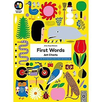 First Words: Art Charts (The Learning Garden)
