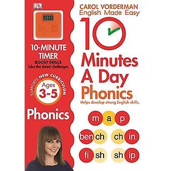 10 Minutes a Day Phonics KS1 by Carol Vorderman - 9781409341413 Book
