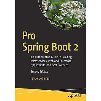 Pro Feder Boot 2: Eine maßgebliche Guide to Building Microservices, Web- und Enterprise-Anwendungen und Best Practices