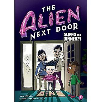 The Alien Next Door 2: Aliens for Dinner?! (Alien Next Door)
