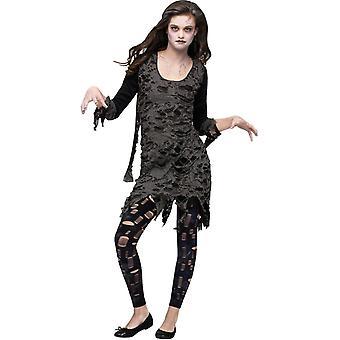Dode Zombie tiener kostuum