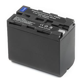 3x - Battery for Sony L-Series NP-F960 NP-F950 NP-F930 NP-F970 NP-F770 NP-F750 NP-F730 NP-F570 NP-F550