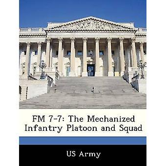 FM 77 la fanteria meccanizzata Platoon e Squad di esercito degli Stati Uniti