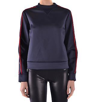 Red Valentino Blue Polyester Sweatshirt