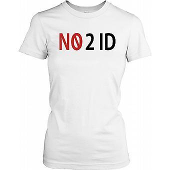 N. 2 ID - No ID - cospirazione Ladies T Shirt