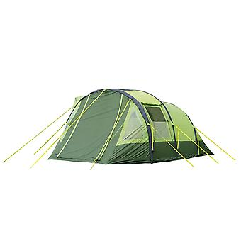 OLPRO Abberley Tent XL Breeze 4 Berth Green 2 Doors 3 Windows Waterproof Camping