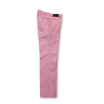 Ralph Lauren pink brushed cotton trousers
