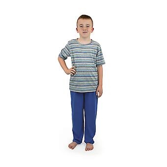 Socks Uwear Boys Summer Striped Top Cotton Long Pyjamas