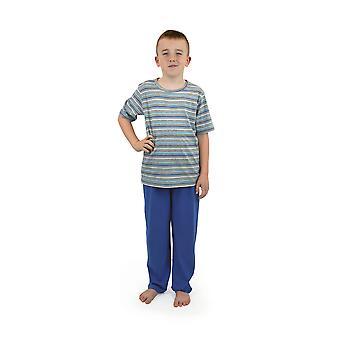 Calcetines Uwear niños verano pijama larga de rayas algodón superior