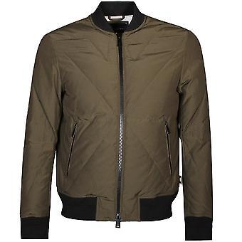 Emporio Armani Bomber Jacket Khaki
