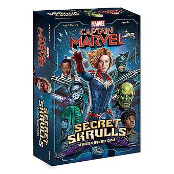 Capitán Marvel Secret Skrulls juego de cartas