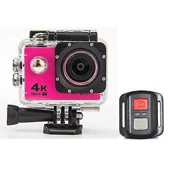 Hd 4k wifi action camera 1080p 60fps mini cam 30m waterproof go sport dvr extreme pro cam pink