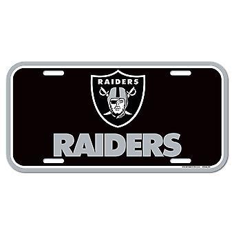 لوحة ترخيص وينكرافت NFL - أوكلاند المغيرون