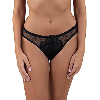 Lisca 12274 Women's Royal Wish Embroidered Knickers Panty Full High-Leg Brief