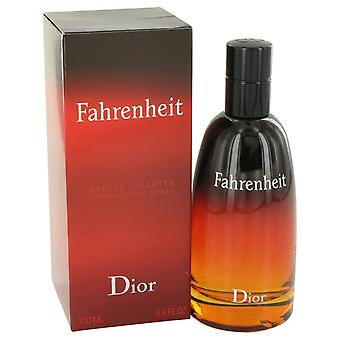 FAHRENHEIT av Christian Dior Eau De Toilette Spray 3,4 oz/100 ml (män)