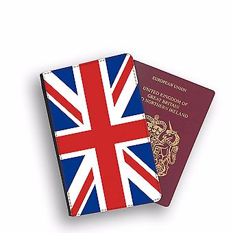 UNITED KINGDOM Flag Passport Holder Style Case Cover Protective Wallet Flags design