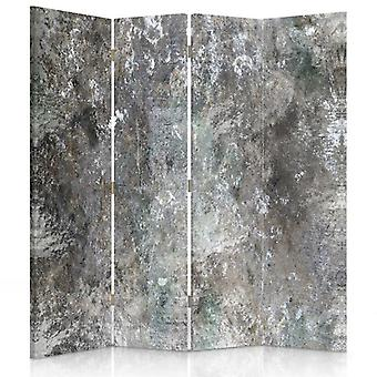 Room Divider, 4 Panels, Canvas, Concrete Wall