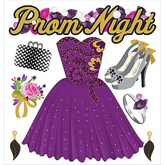 Jolee's Boutique Dimensional Stickers Prom Night E5021464