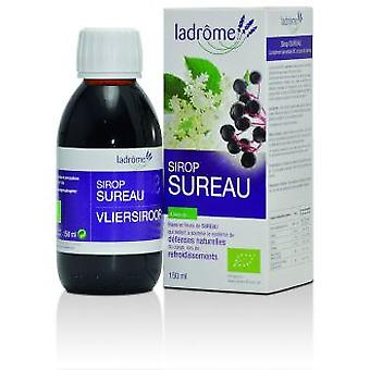 Ladrôme Elderberry syrup bio, 150ml