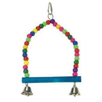 Arquivet Multicolor 2 Campaign Swing (Birds , Bird Cage Accessories , Toys , Swings)