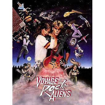 Voyage av Rock Aliens filmaffisch (11 x 17)