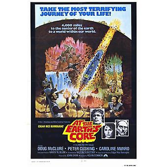 At the Earths Core c1976 Movie Poster (11 x 17)