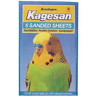 Kagesan Sanded Sheets No5 40x25cm 6 Sheets (Pack of 12)