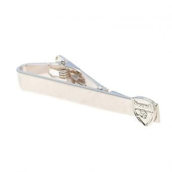 Arsenal Silver Plated Tie Slide