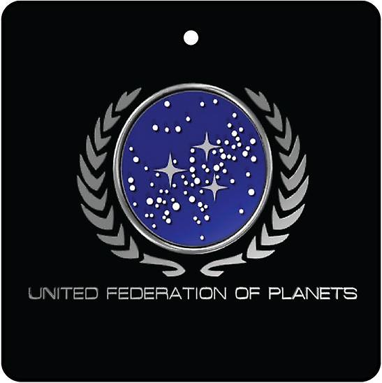 United Federation Of Planets Car Air Freshener