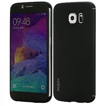 Oprindelige ROCK smart cover sort for Samsung Galaxy S6 G920 G920F