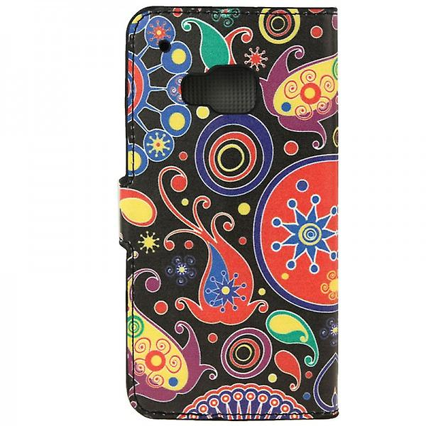 Cover wallet pattern 8 for HTC one 3 M9 2015
