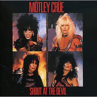 Motley Crue - råbe på Devil [CD] USA importen