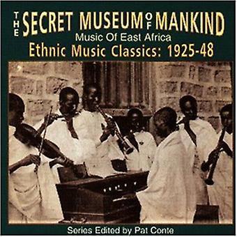 Hemmelige Museum of Mankind - musik af Østafrika [CD] USA import