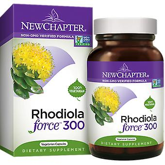 New Chapter Rhodiola Force 300 Capsules 30 ct