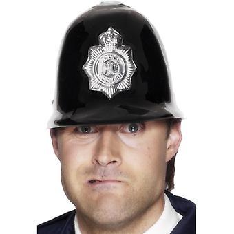 Police helmet plastic with badge